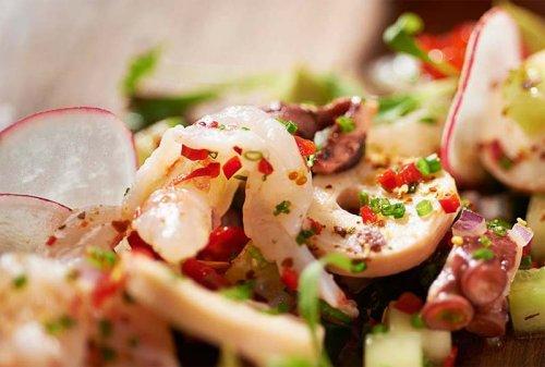 Ceviche de calamares