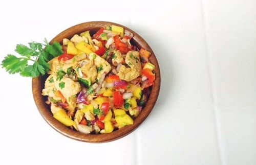 Ceviche de pollo